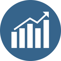 Prognosen und Bedarfsanalysen Icon