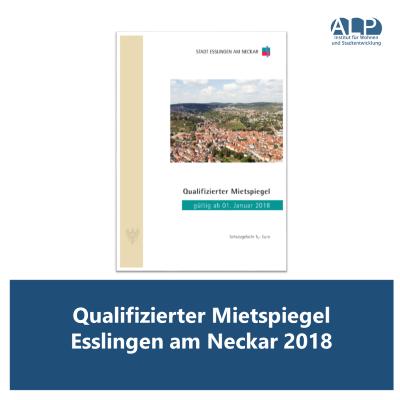 Qualifizierter Mietspiegel Esslingen am Neckar 2018