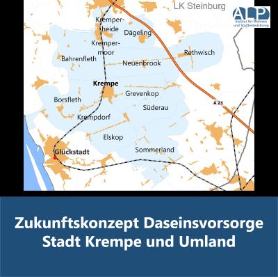 Zukunftskonzept Daseinsvorsorge Stadt Krempe und Umland